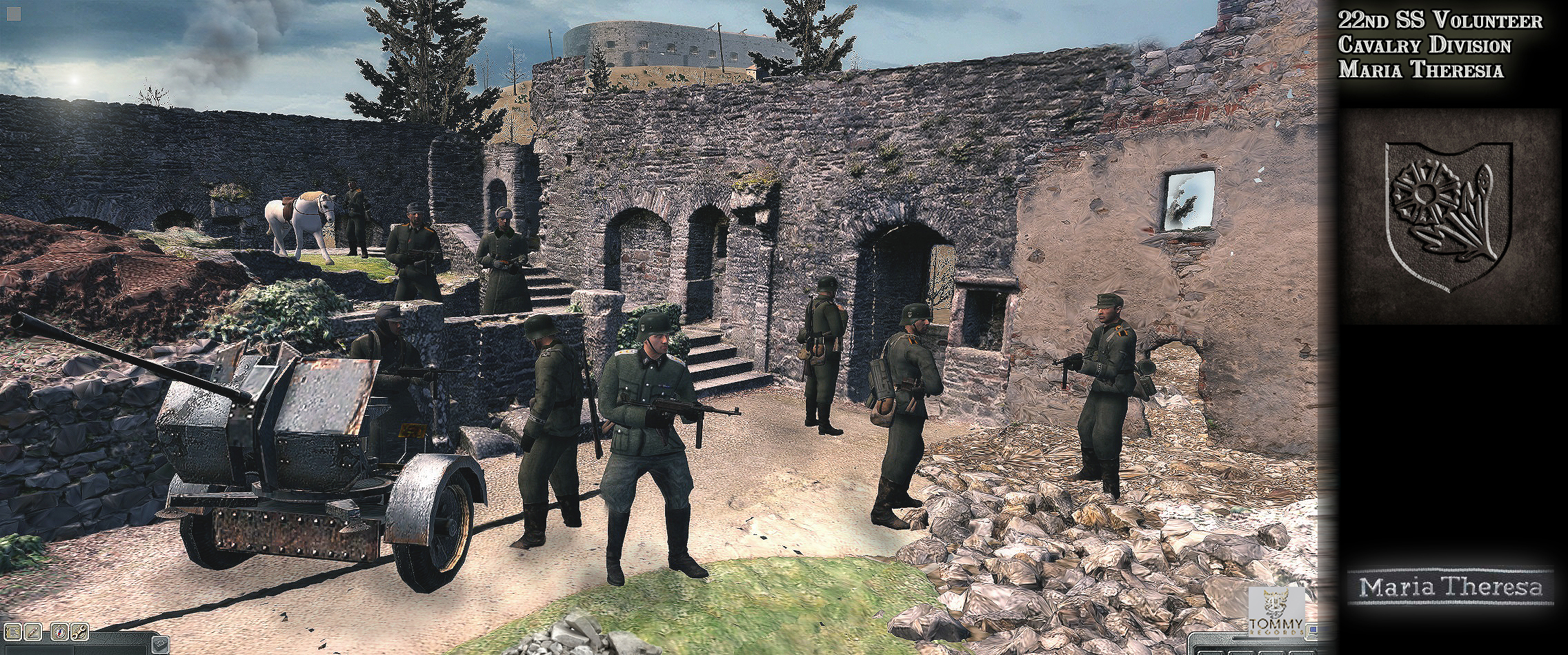 Germans in the Budai vr