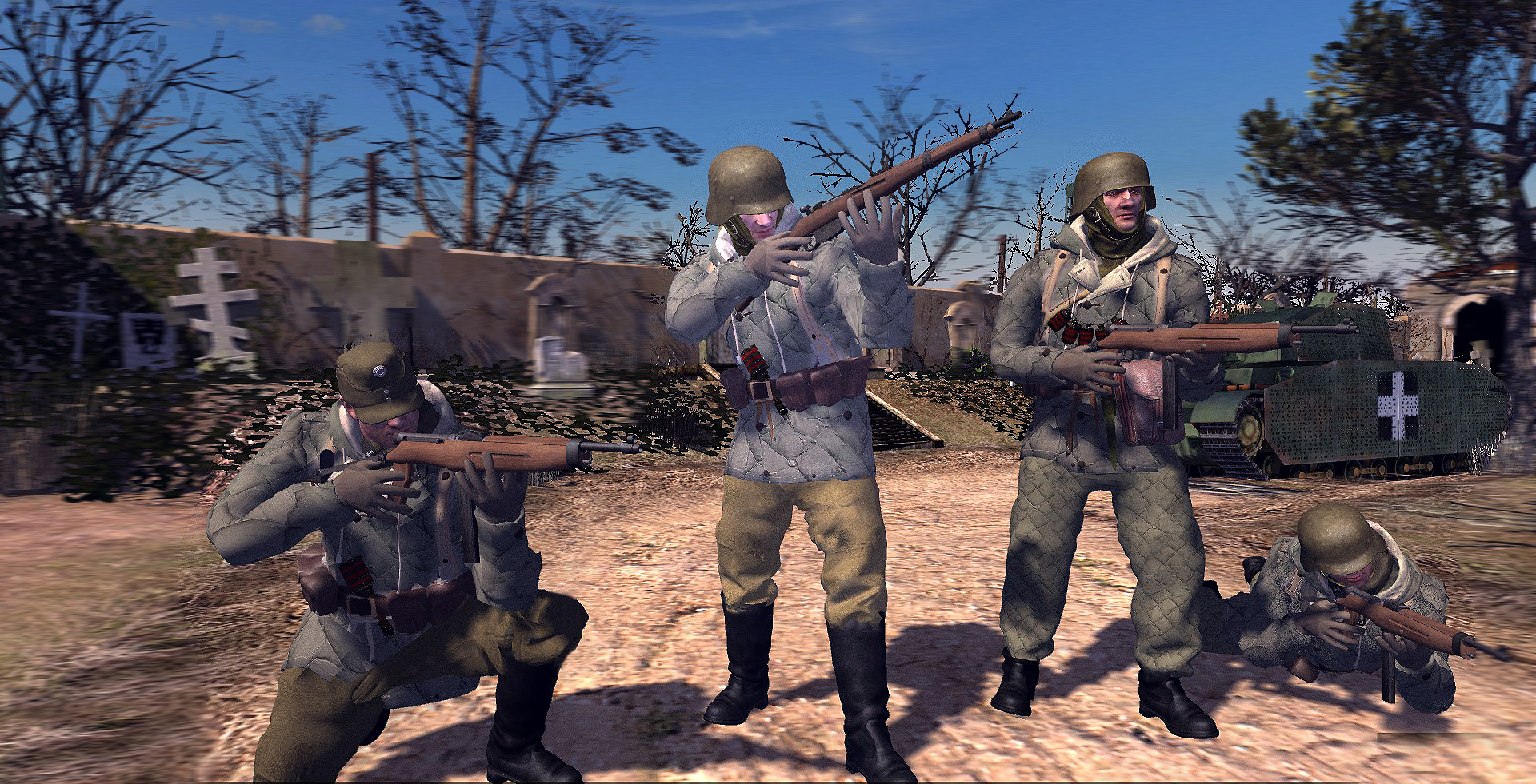 Hungarian elite troops models call to arms men of war epic