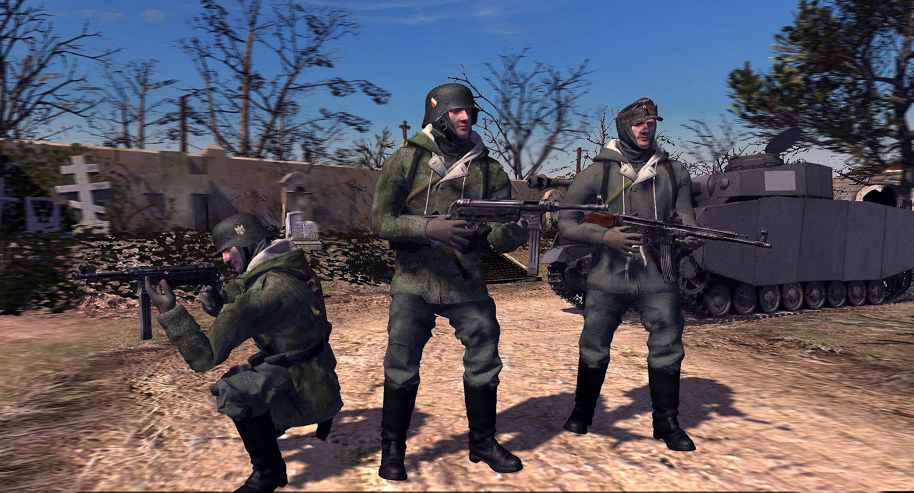 Wehrmacht infantry models budapest siege mod