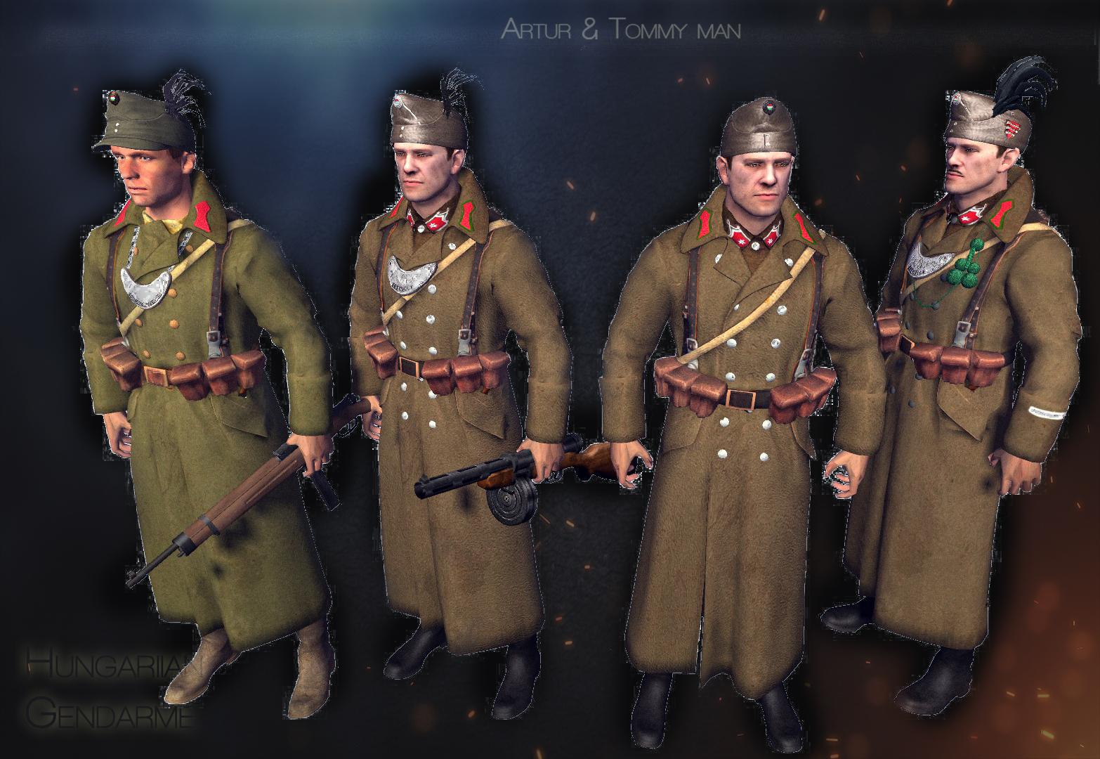 Magyar tábori biztonság! 1944-45 Siege,Game.