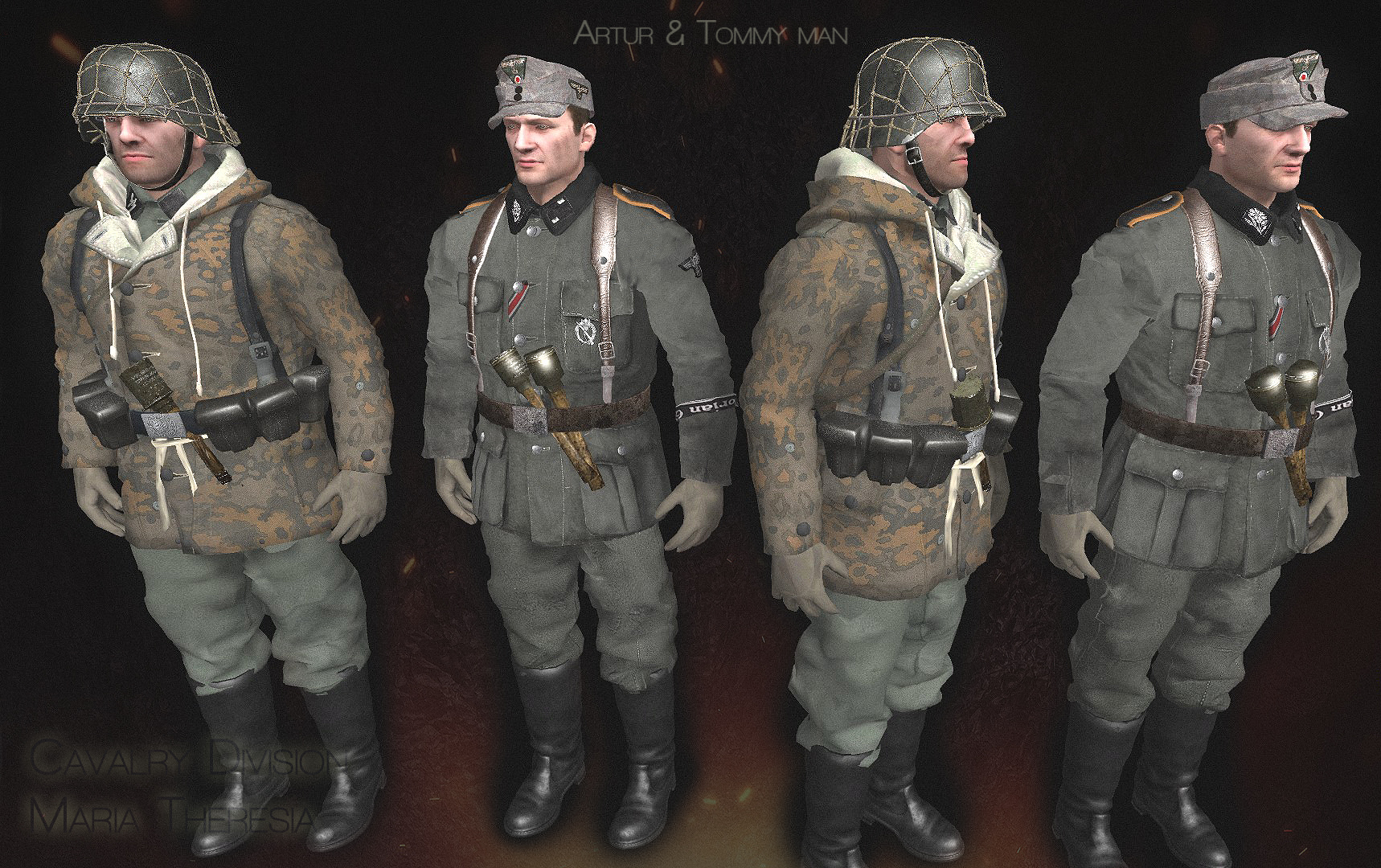 maria theresia division,Budapest siege, game, mod, epic,