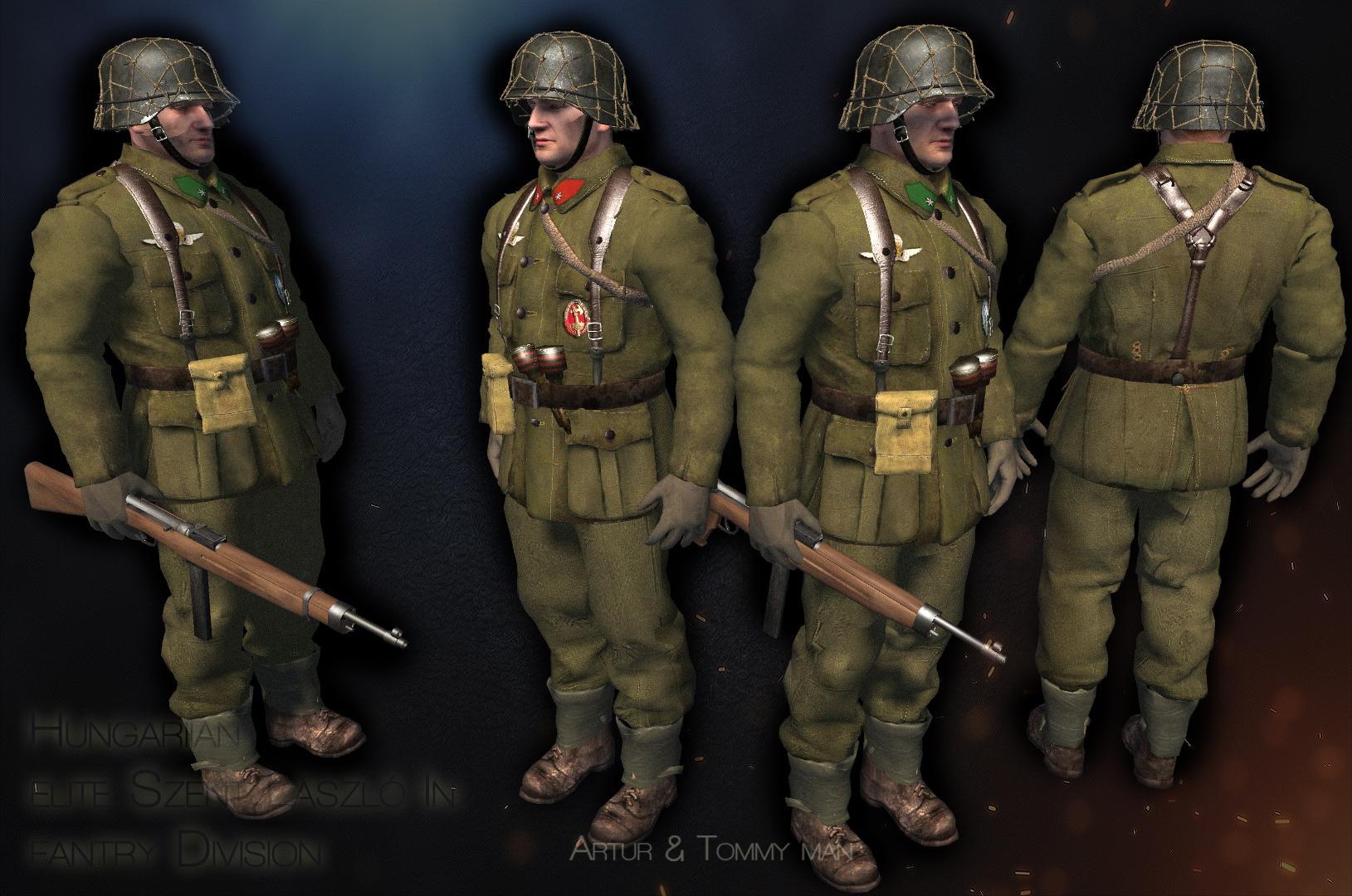 Szent László Hadosztály ,1944-45 Budapest ostroma,Jatek.