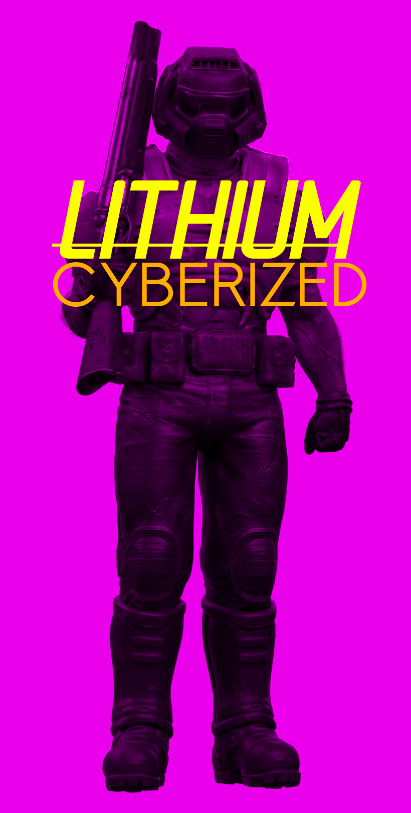 Lithium Cyberized Box Art