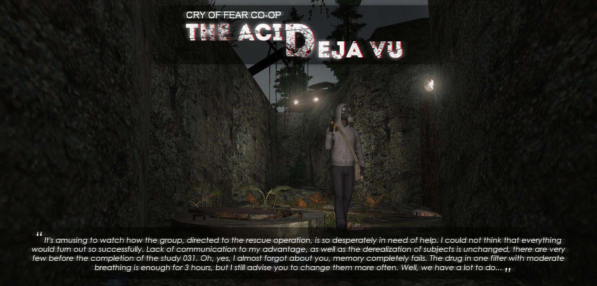 The Acid: Deja Vu mod for Cry of Fear - Mod DB