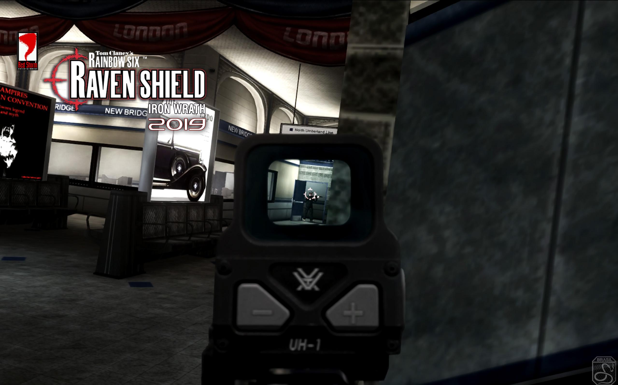 Raven Shield Iron Wrath subway