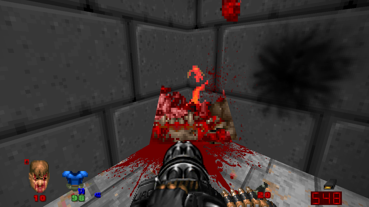 Pain elemental corpse after exploding
