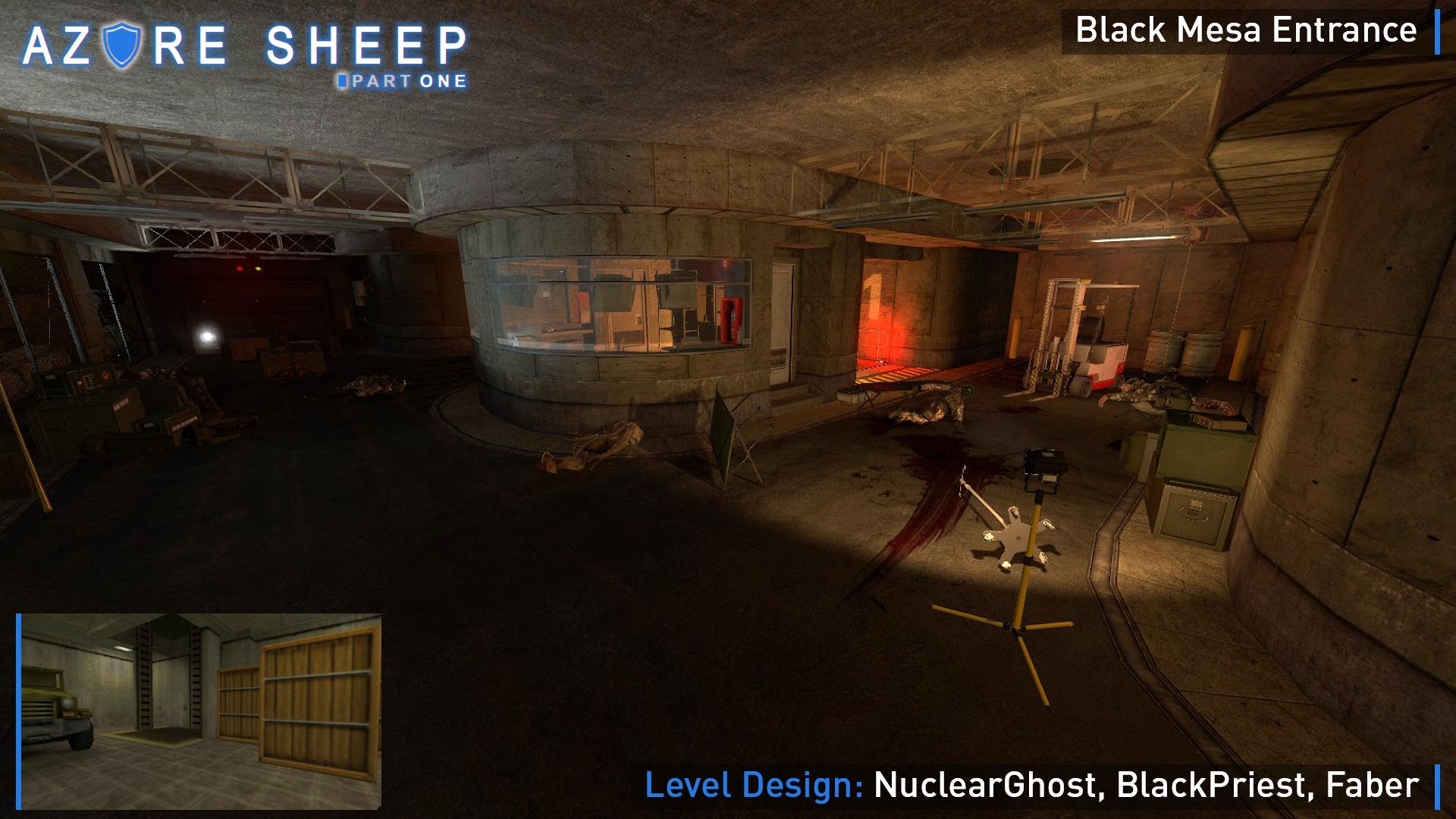 Black Mesa Entrance