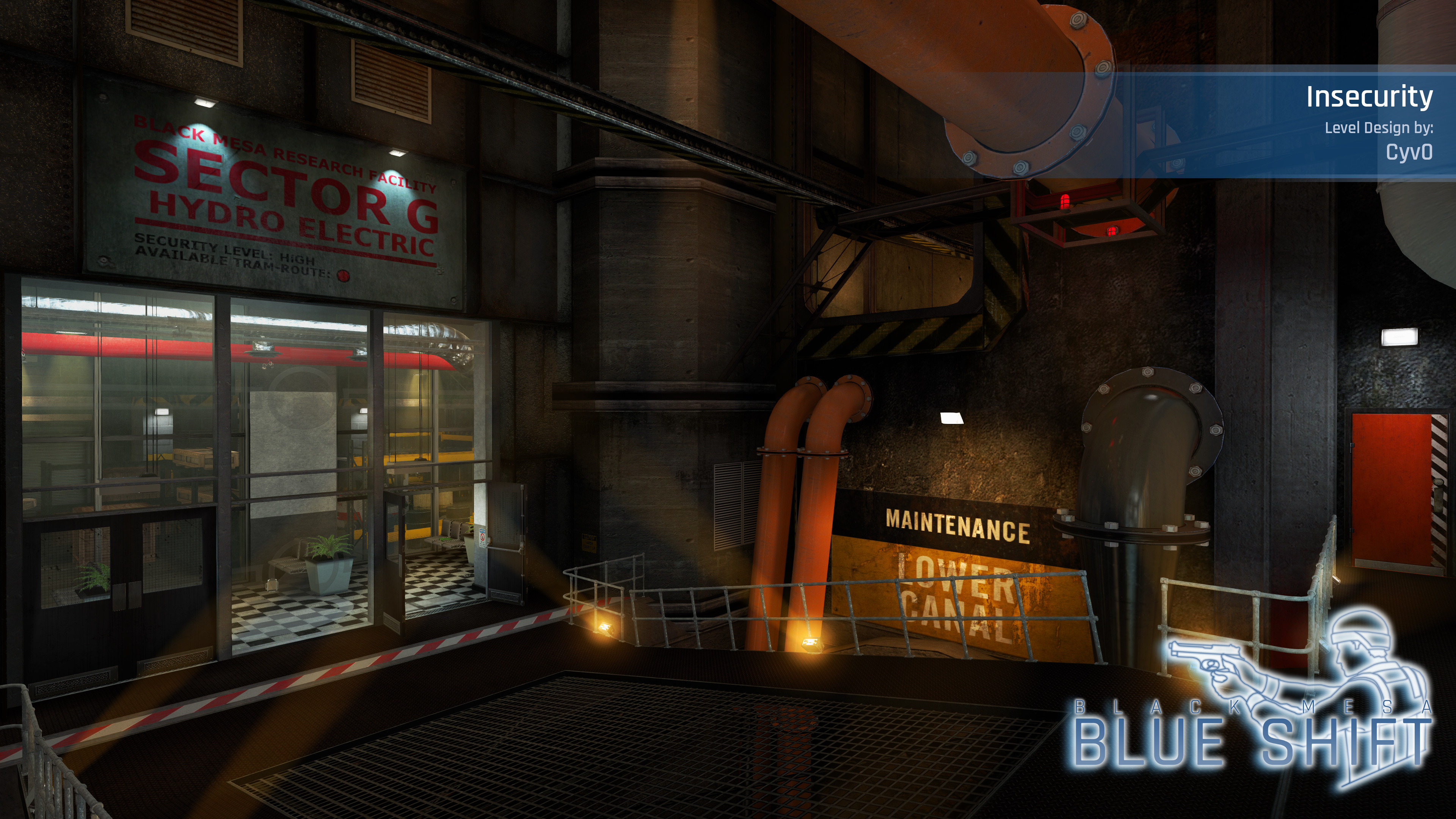 Insecurity Extension - Black Mesa: Blue Shift