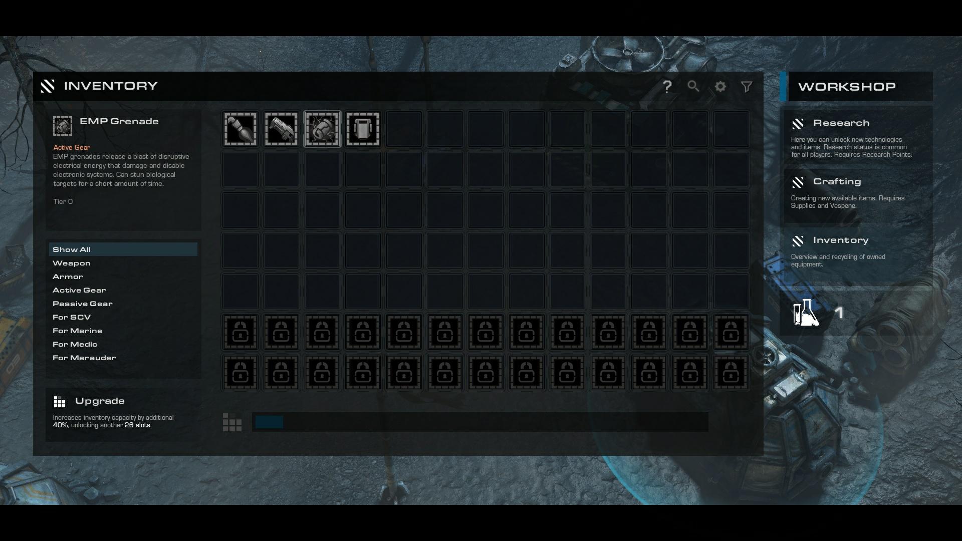 imprv inventory