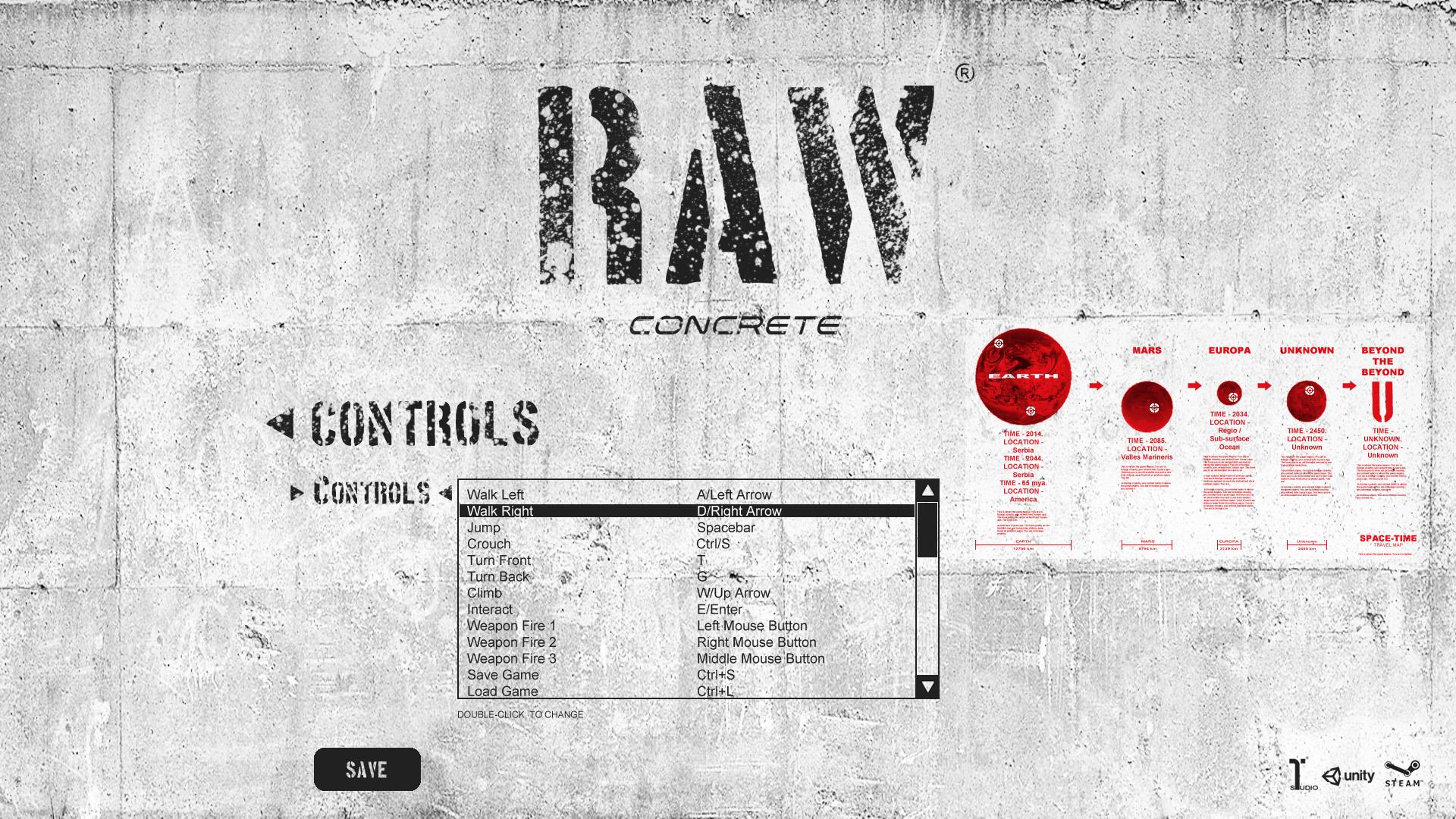 RAWconcrete2Dgame MainMenu10