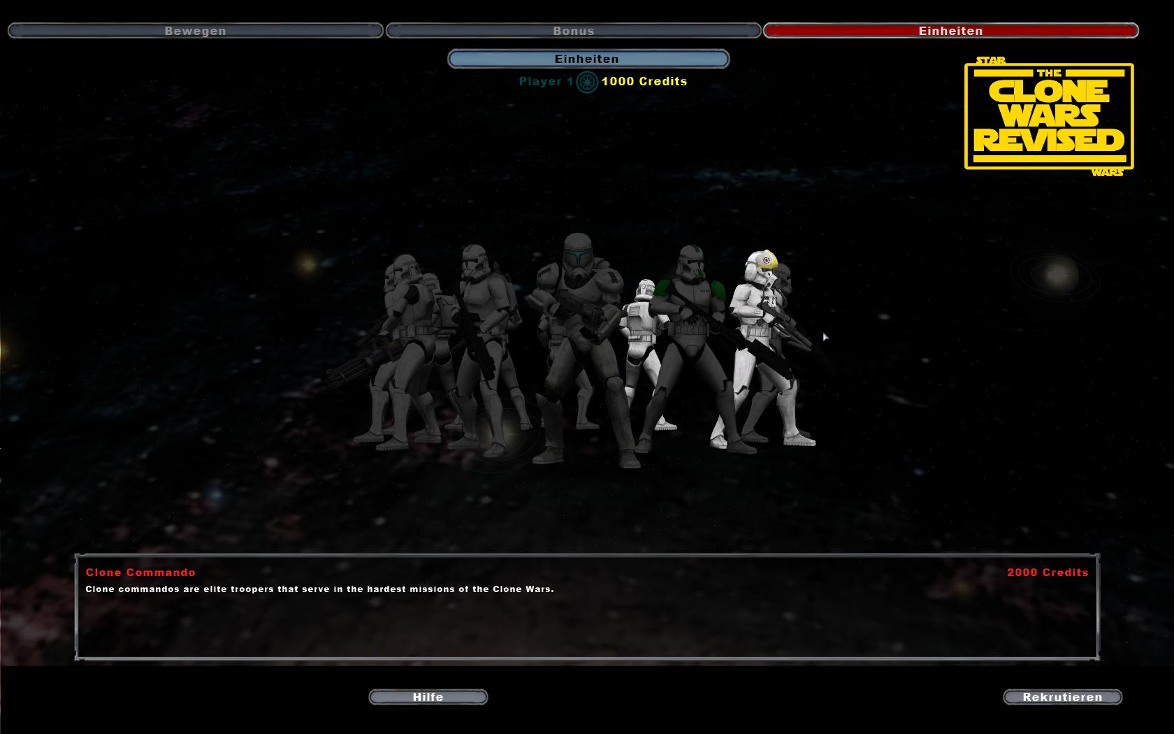 Clone Commando in GC