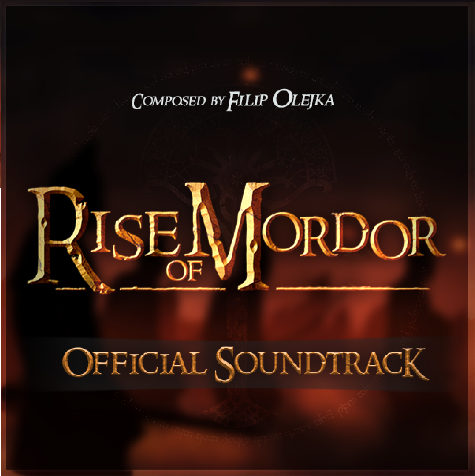 Rise of Mordor - OST cover