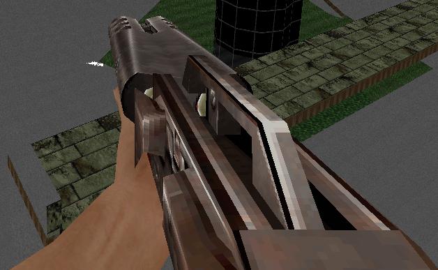 Tactical Double Barrel