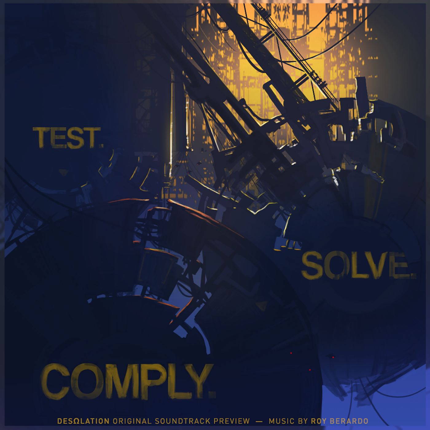 Test Solve Comply Artwork