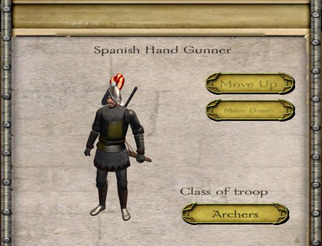 Spanish Hand Gunner