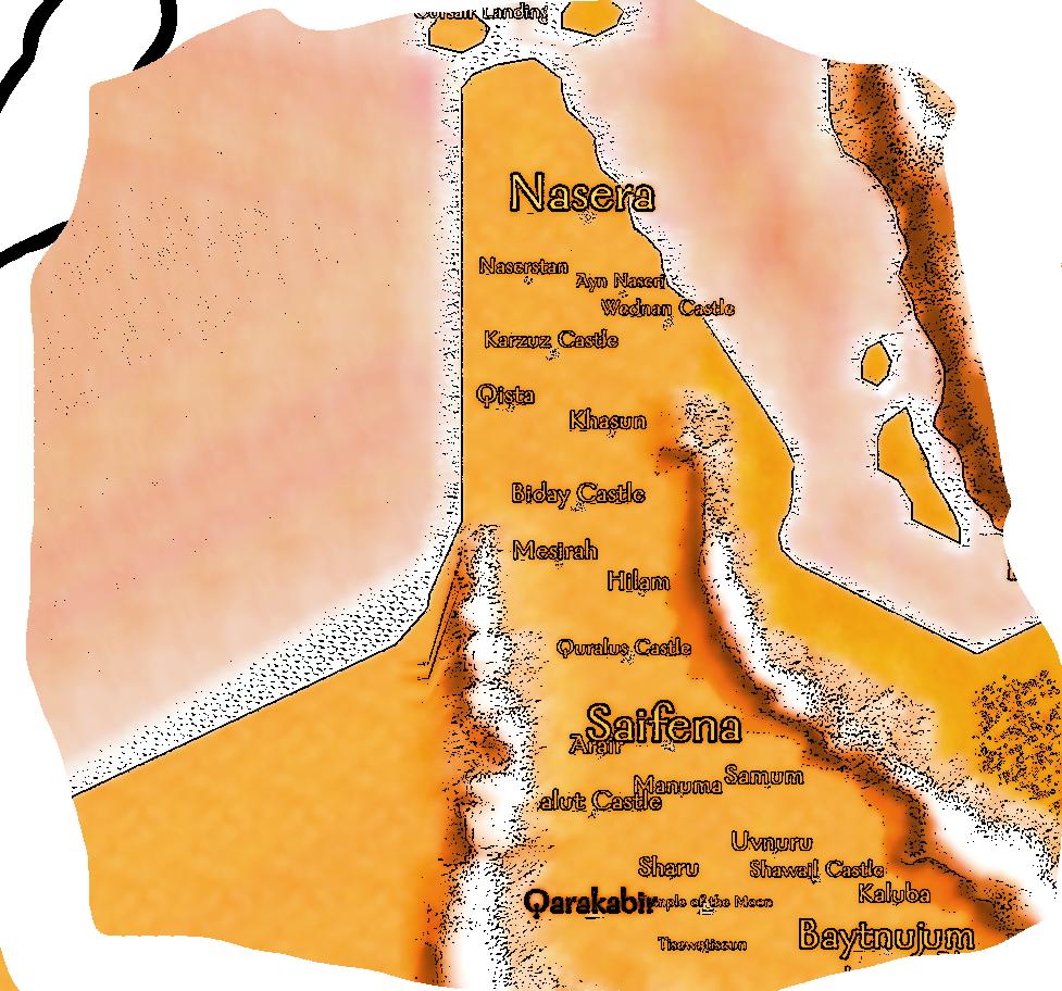 Naserid Map