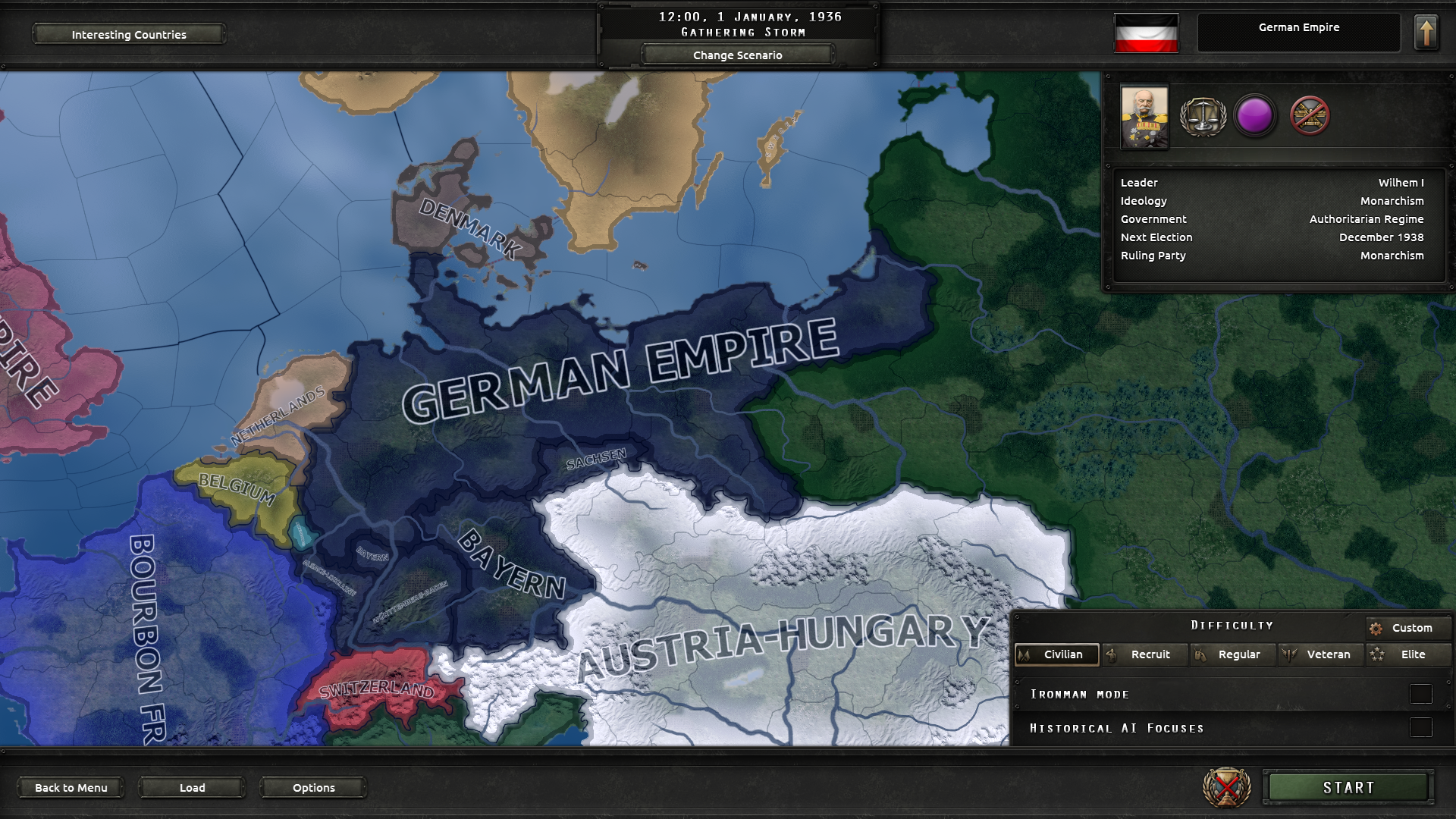 Rise of the Kaiserreich mod for Hearts of Iron IV - Mod DB