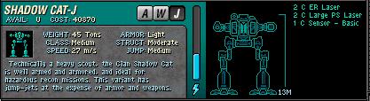 008 Shadow CatJ