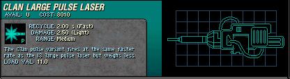 015 Clan Large Pulse Laser