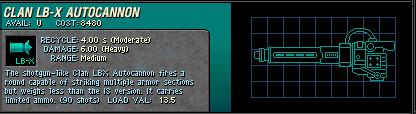 021 Clan LB X Autocannon