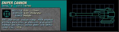 023 Sniper Cannon