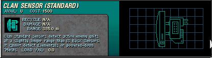 049 Clan Standard Sensor