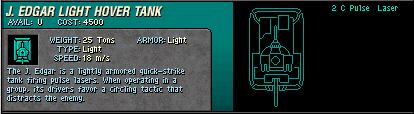06 J  Edgar Light Hover Tank