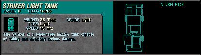 09 Striker Light Tank