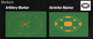 Artillery Markers