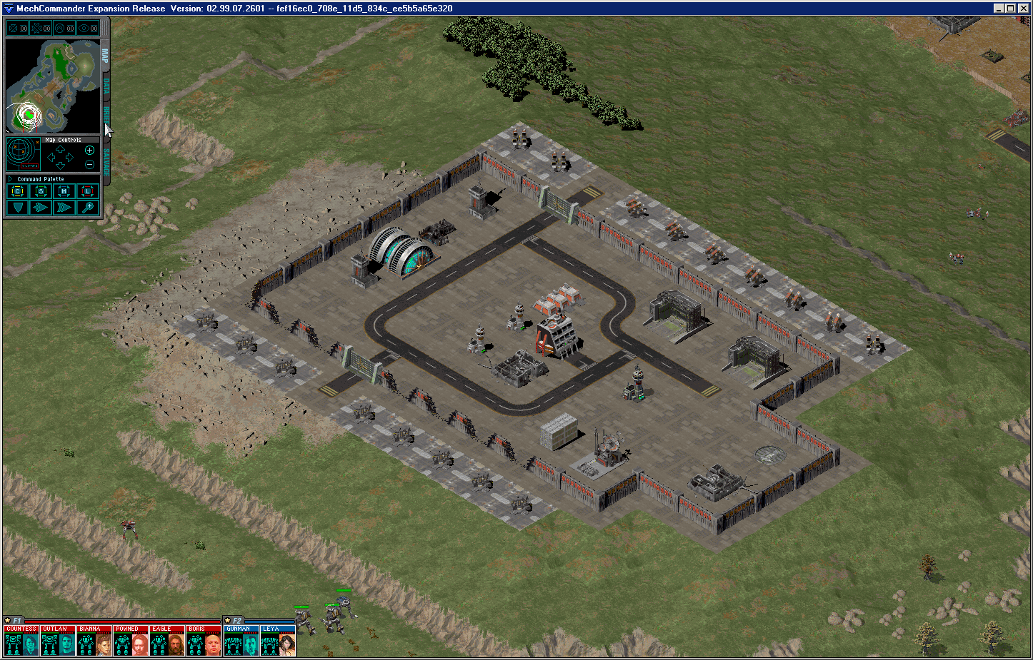 Enemy Base Complex