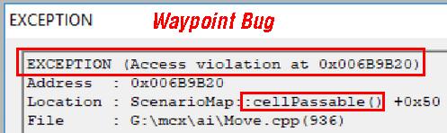 WaypointBug