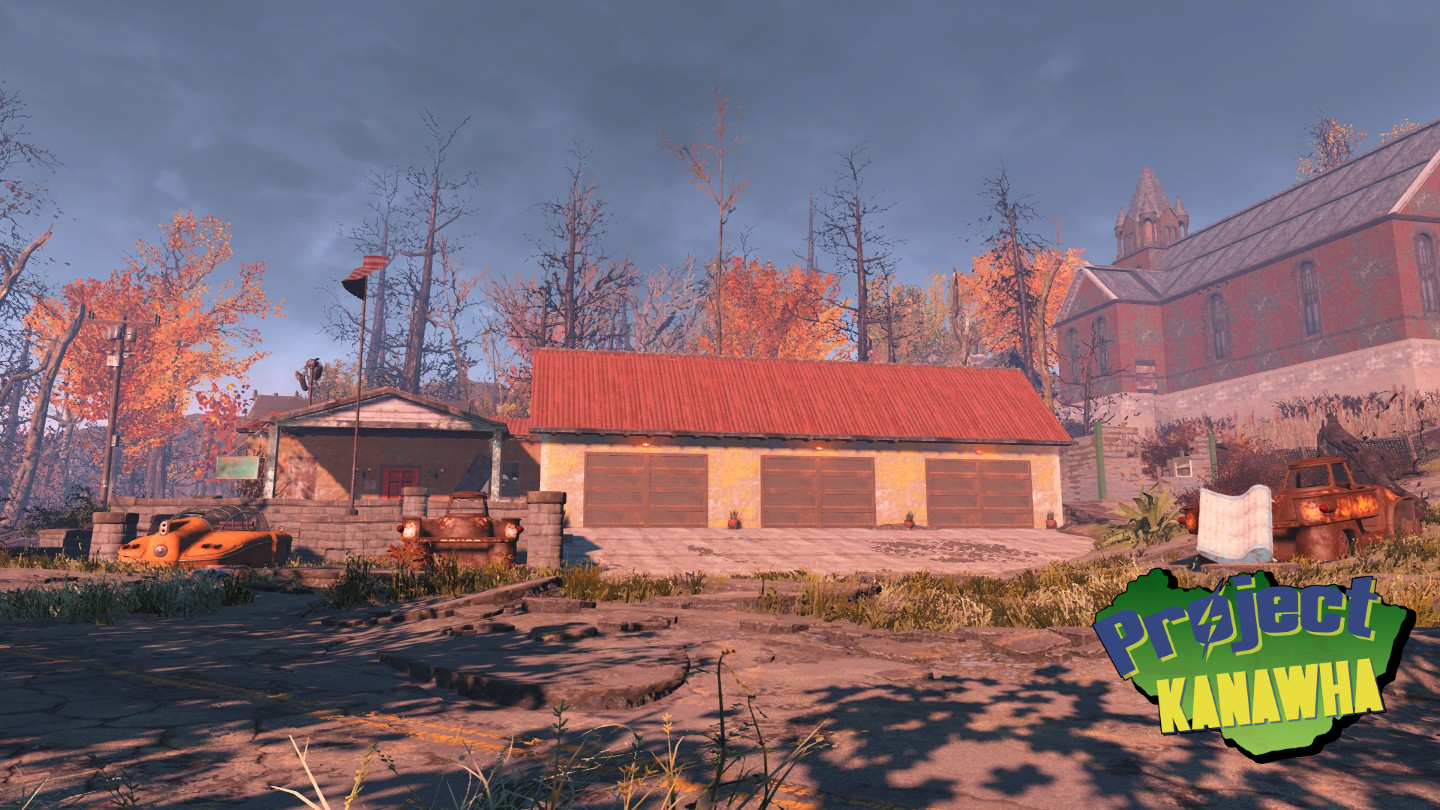 town hall - Fallout 4: Project Kanawha Showcase.