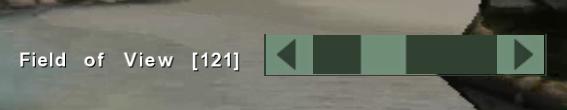 FarOut FOV slider