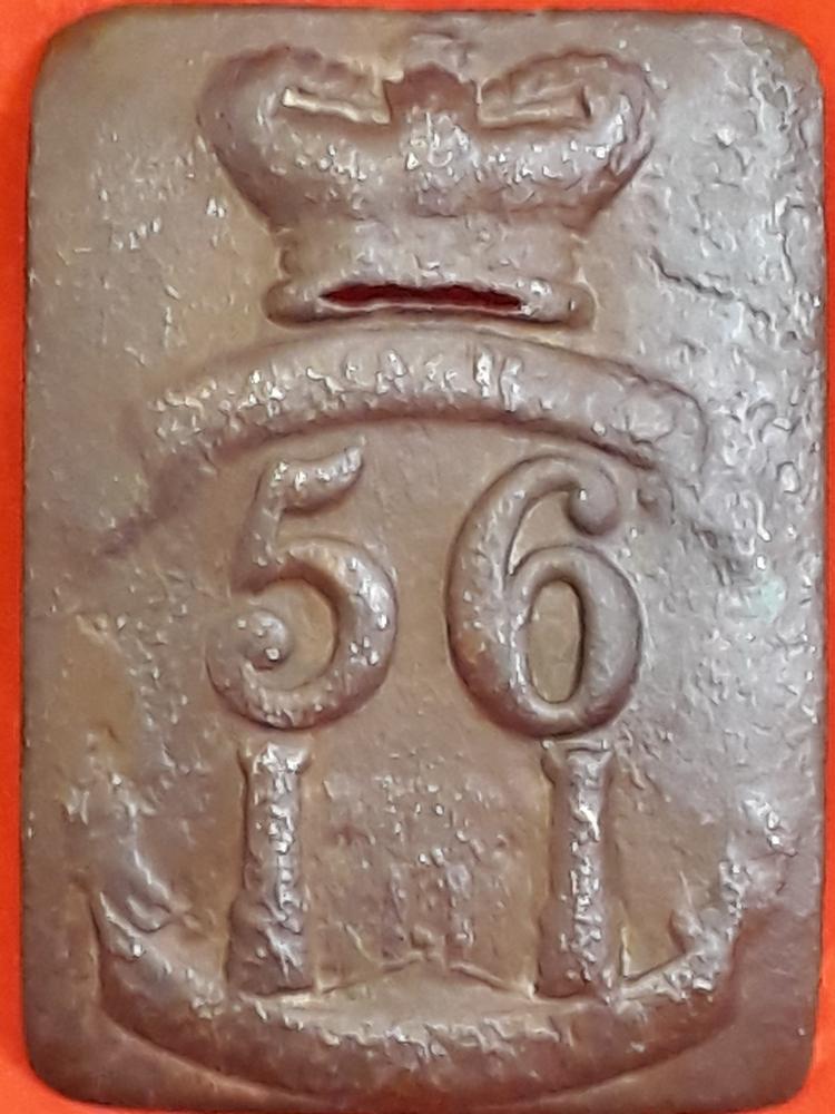 56th Crossbelt plate Peninsular