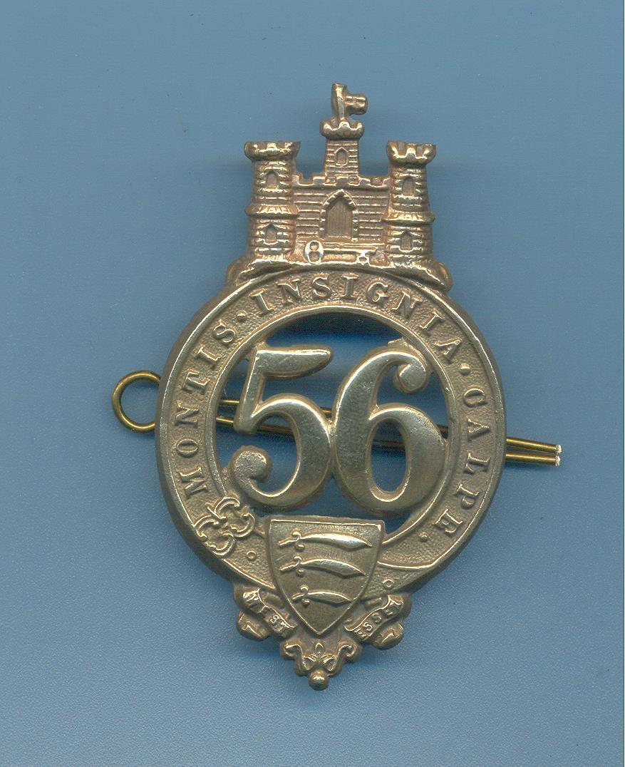 56th Foot glengarry badge