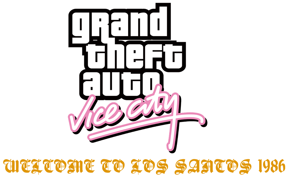 Grand Theft Auto Vice City Welco