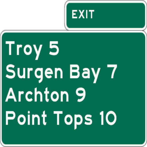 highway sign1 troy