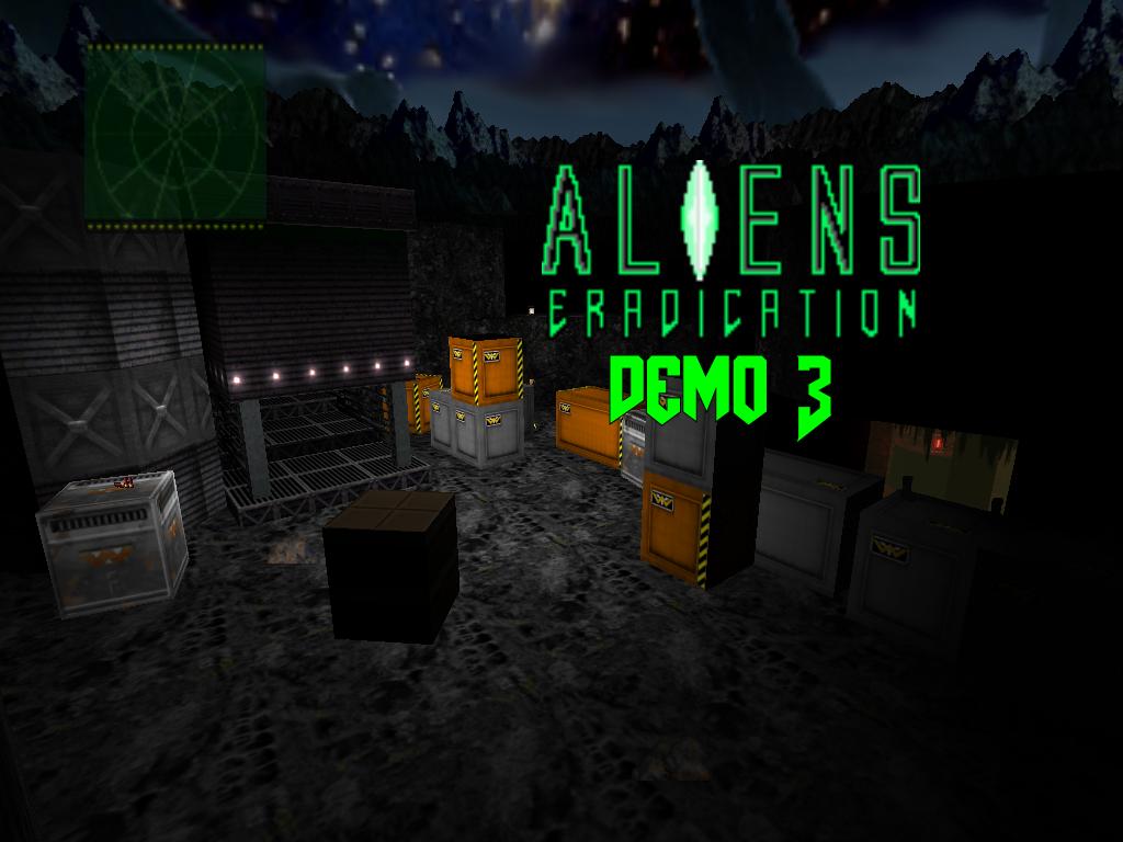 ALIENS: ERADICATION demo3