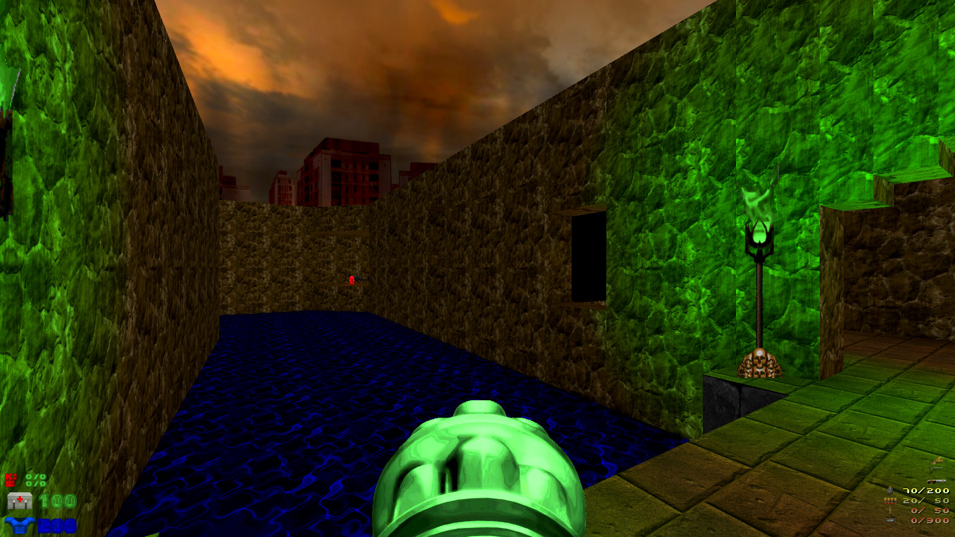 Screenshot from Doom II