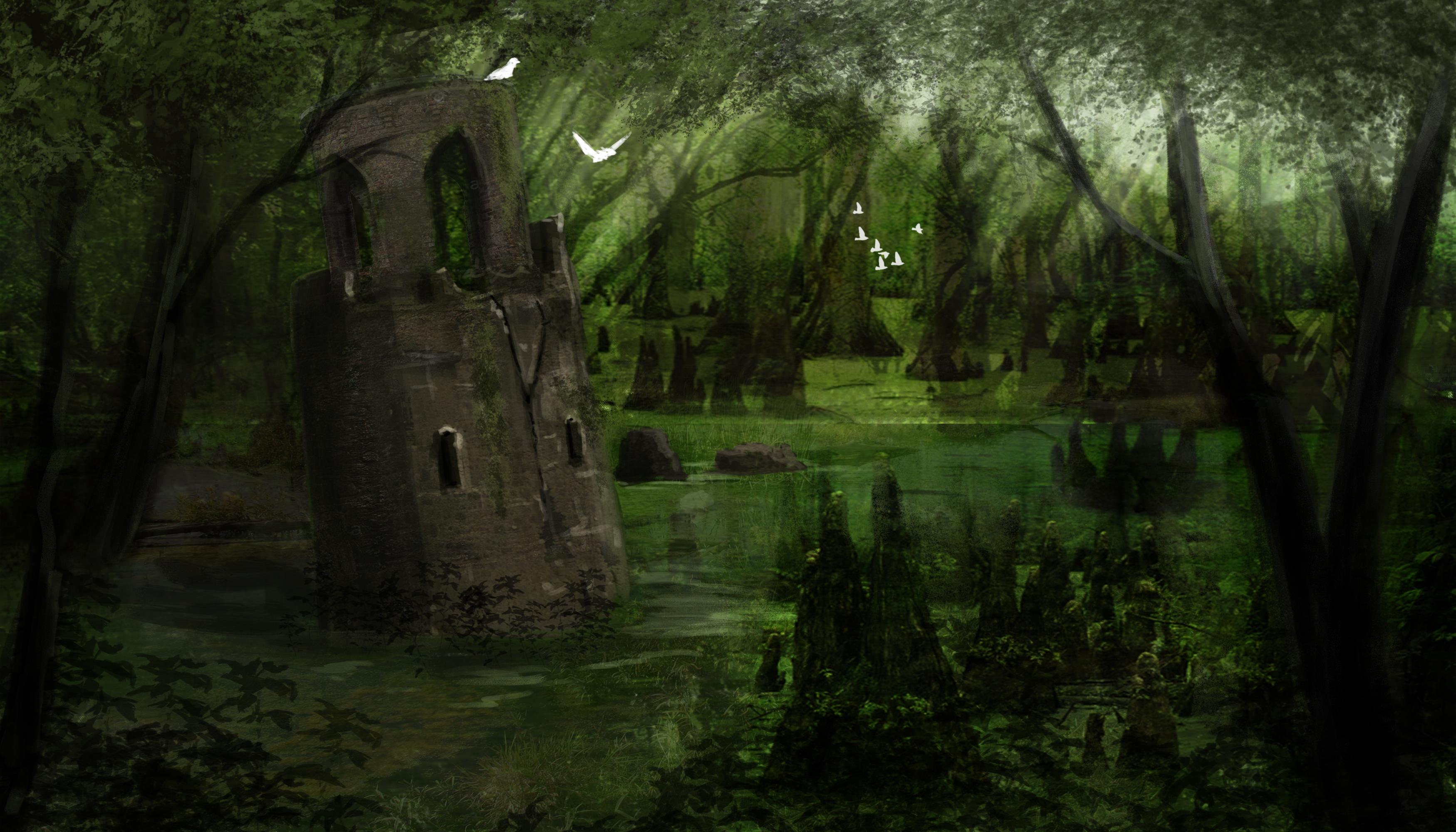 Rukape Swamp   Sunken Fort