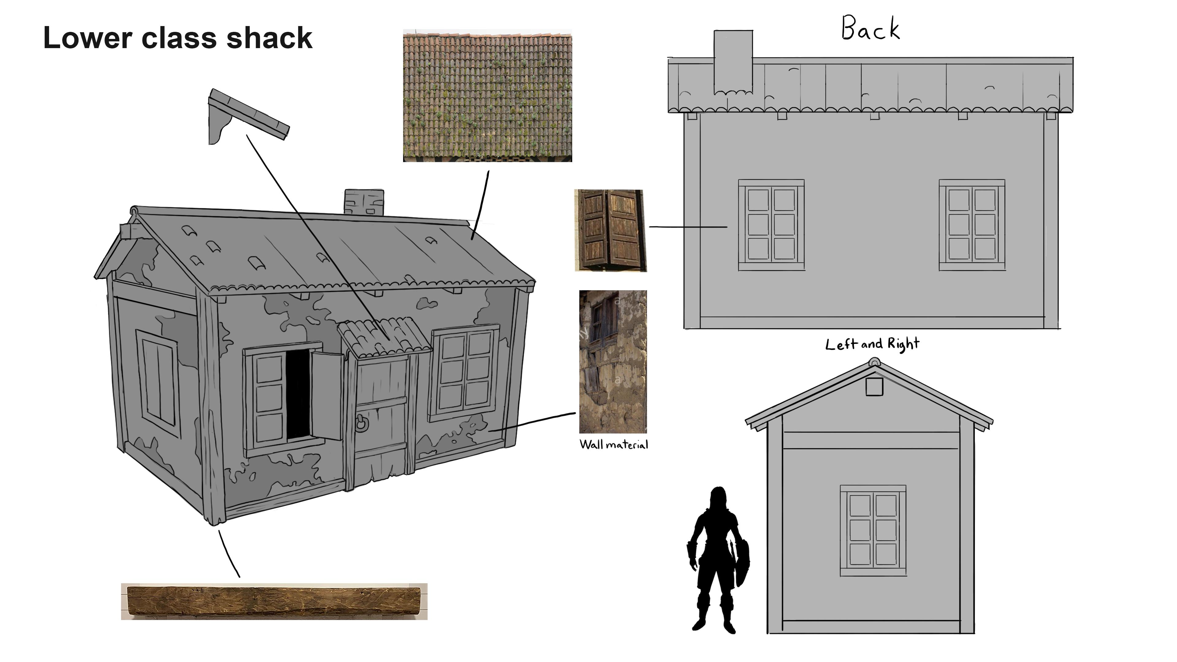 Wardensbay simple shack 1
