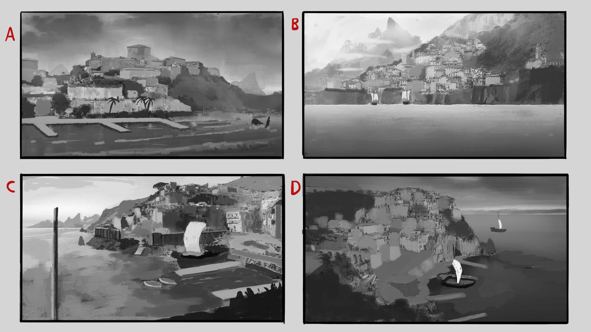 Thumbnail sketches of Wardensbay