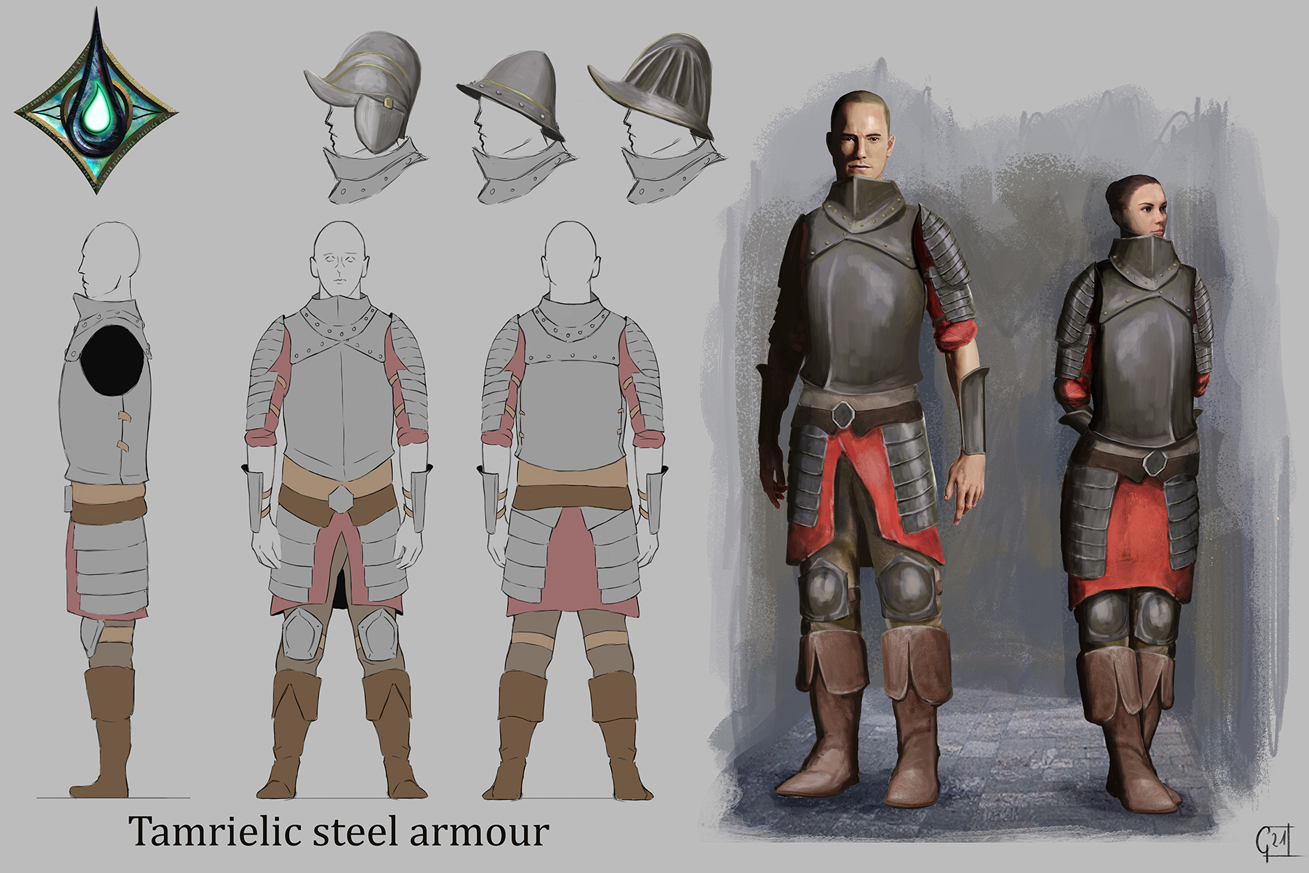 tamrielic steel armour lowres