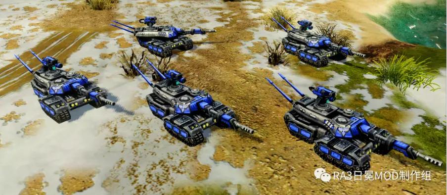MBT X8 Guardian Tank
