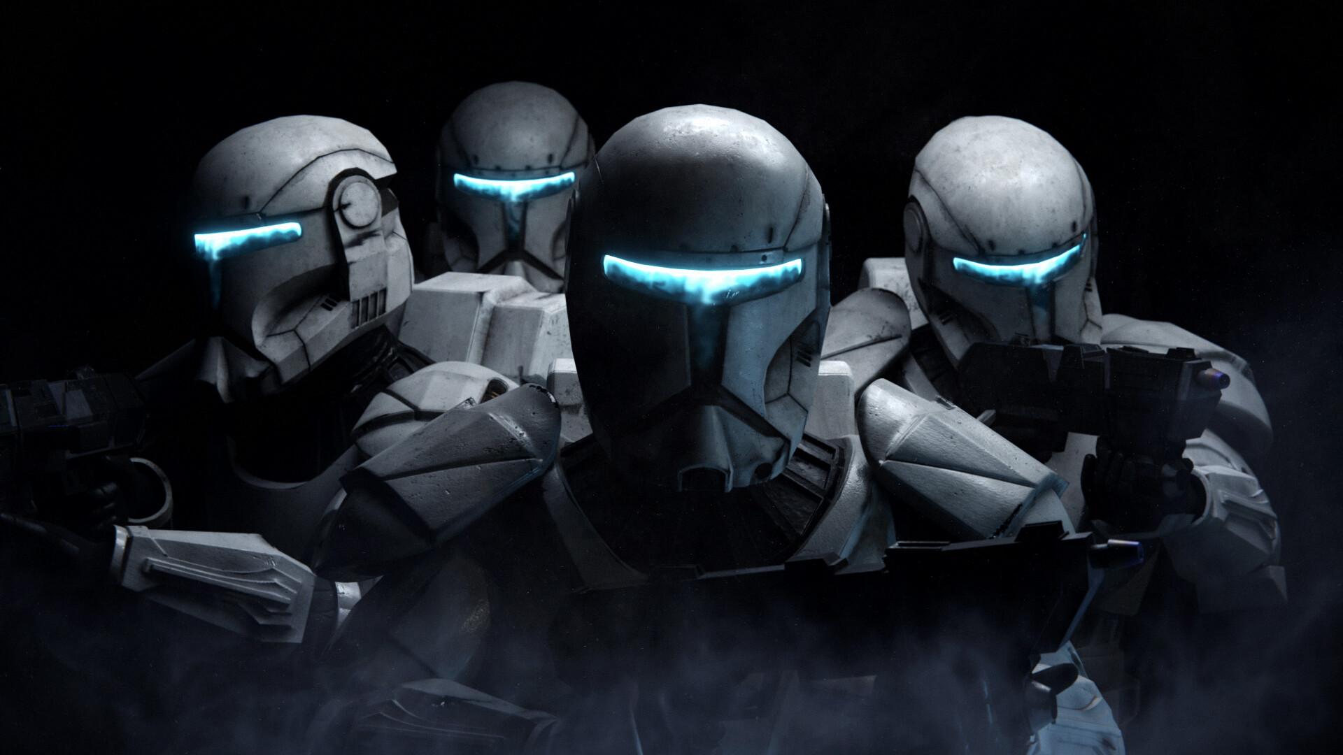 Republic Commando Render