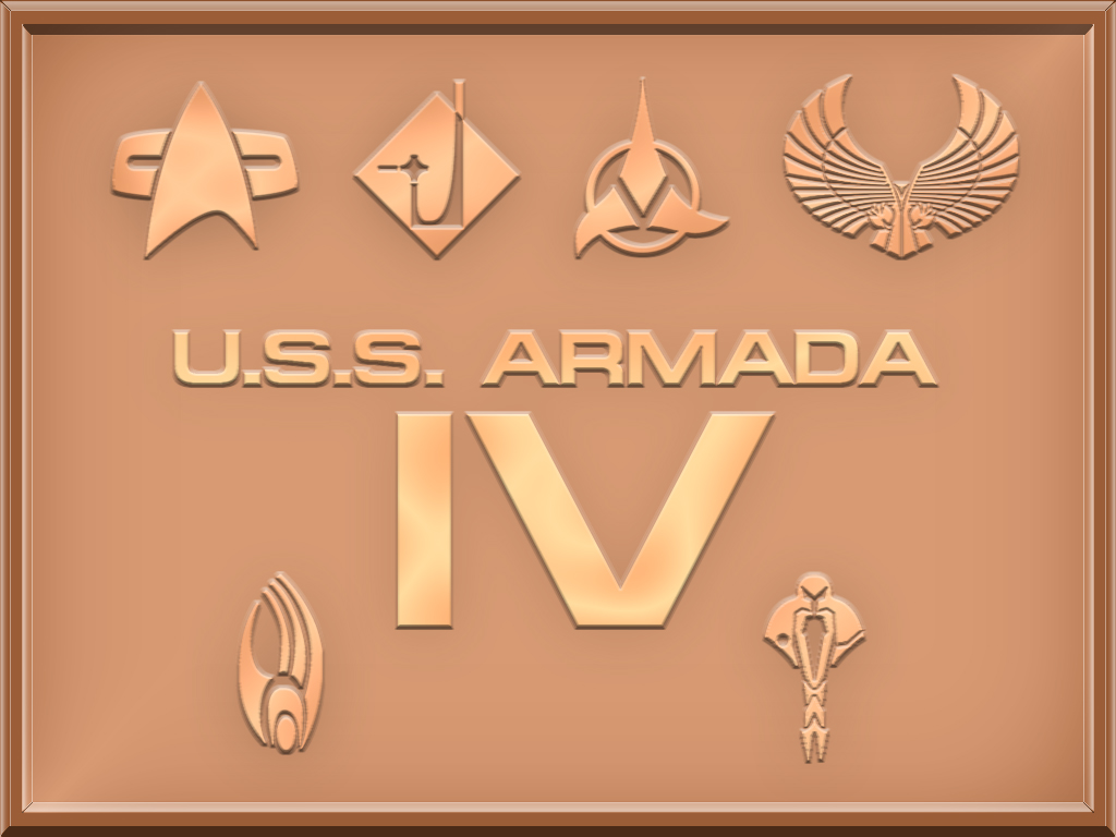 A4 Starship Plaque