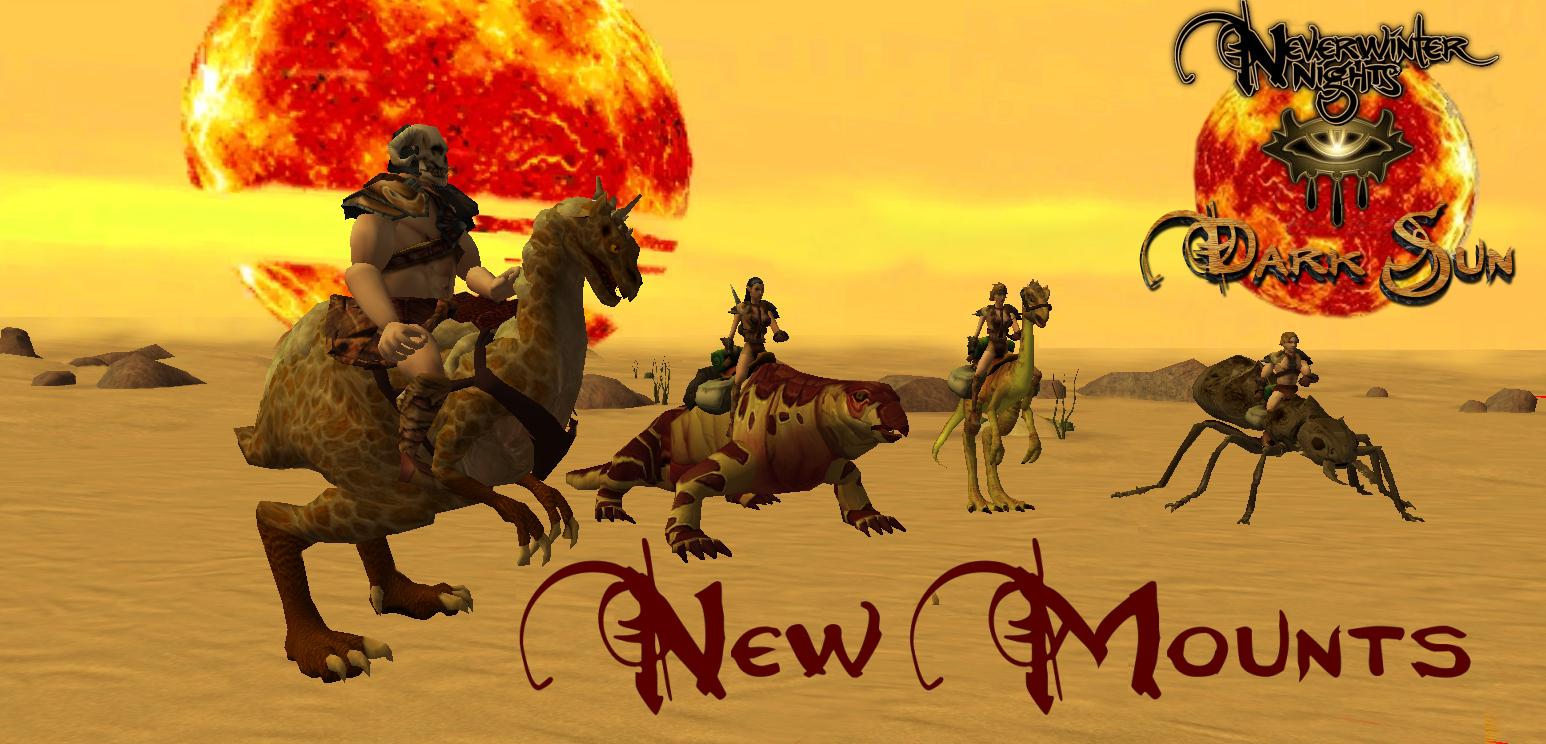 New Mounts 001