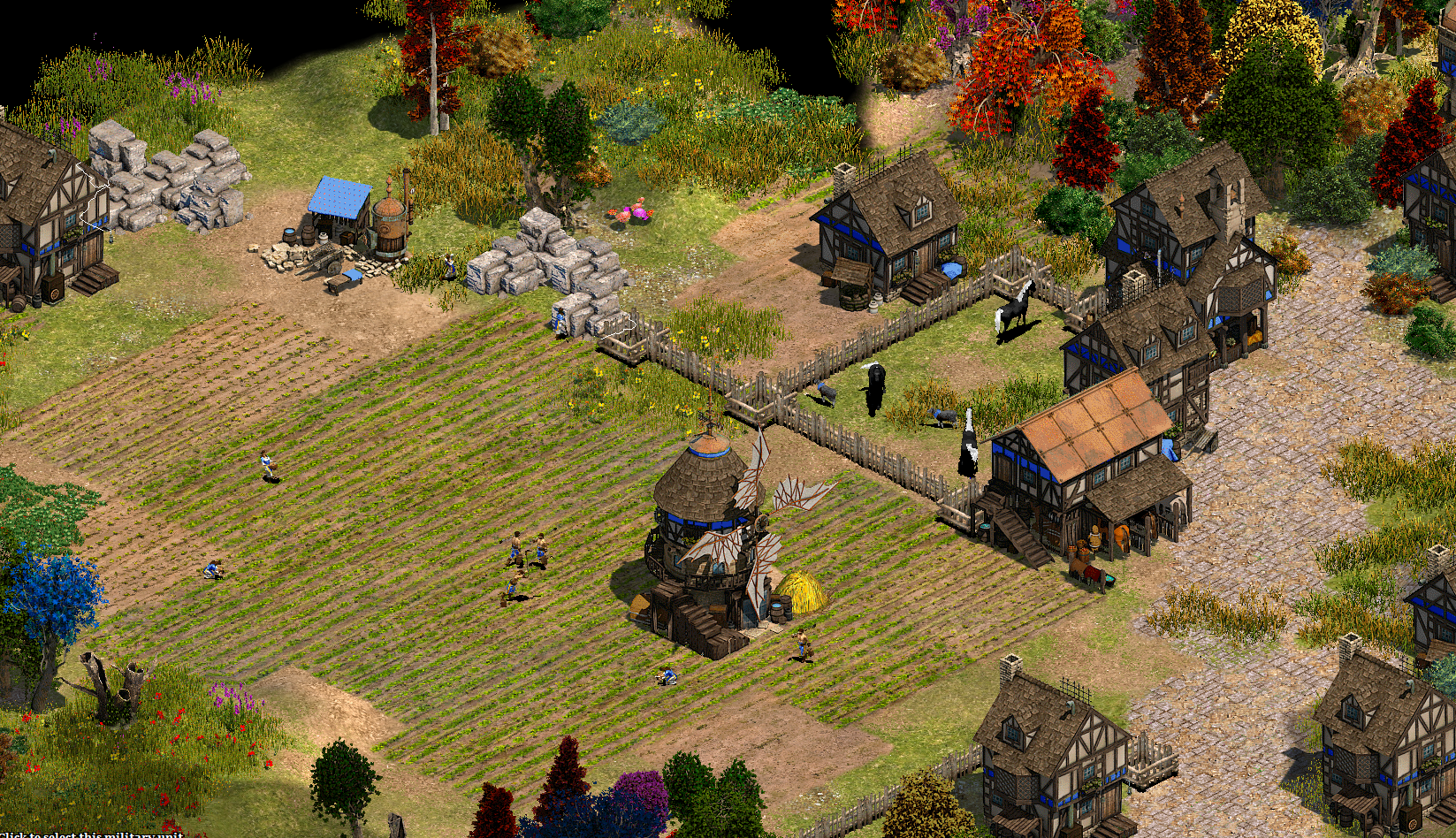 New Stone mines and Farms