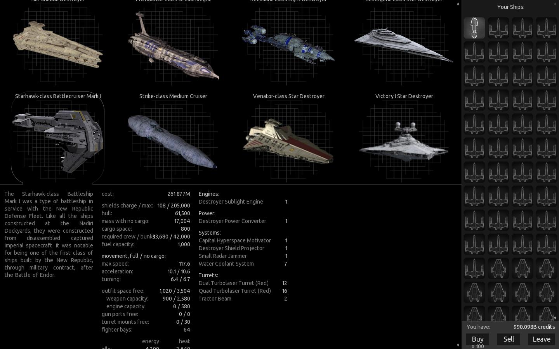 Teaser v0.3-alpha Ship Thumbnails