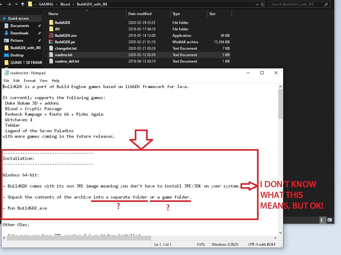 BloodGDX install fail 003